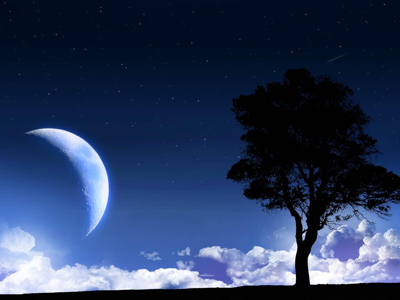 3d nature wallpaper moon - photo #27