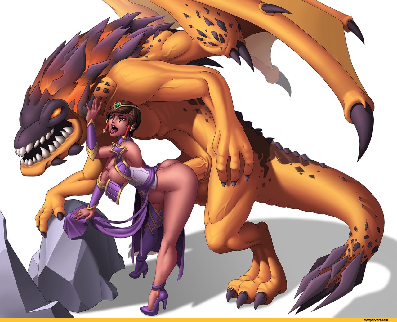 Dragon monster porn video sexy comic