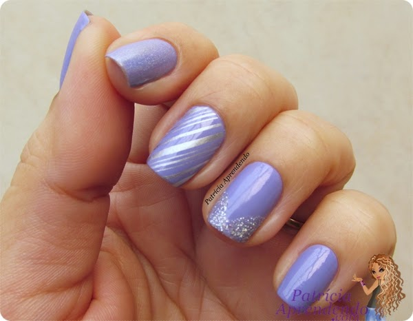 Esmalte Granado Joan com Nail Art