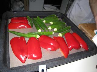 杉並区に出張料理:2品目:季節のお野菜の和風焼き
