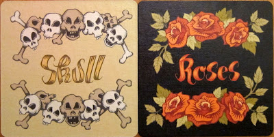 Skull & Roses - The player mat (both sides)