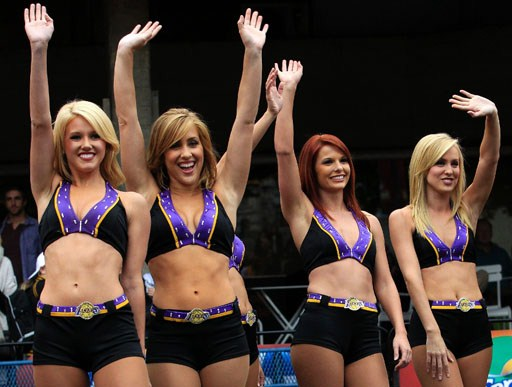 Foto Hot Cheerleaders NBA 2012
