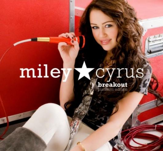 Miley Cyrus Breakout Platinum Edition