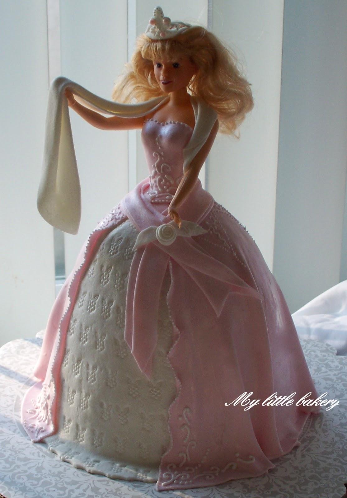 Торт кукла своими руками фото
