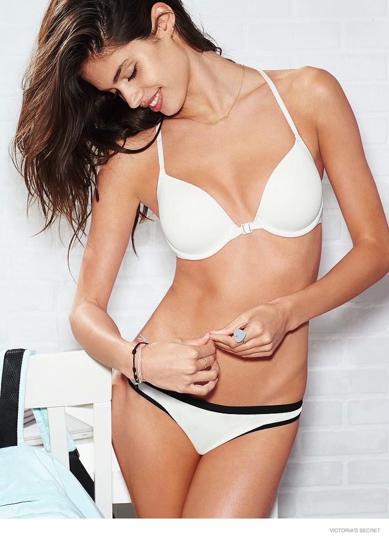 Victoria's Secret Pink Loungewear Campaign 2014 featuring Sara Sampaio