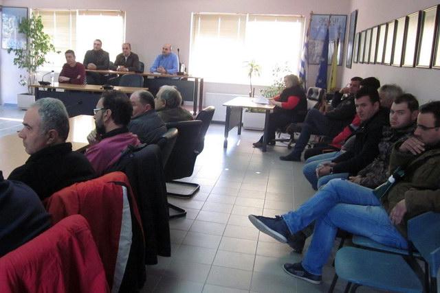 Σύσκεψη παραγωγών οσπρίων στις Φέρες Έβρου