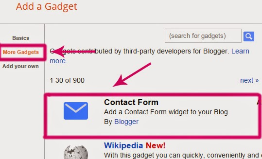 Cara Mudah Membuat Form Contact Us Blog