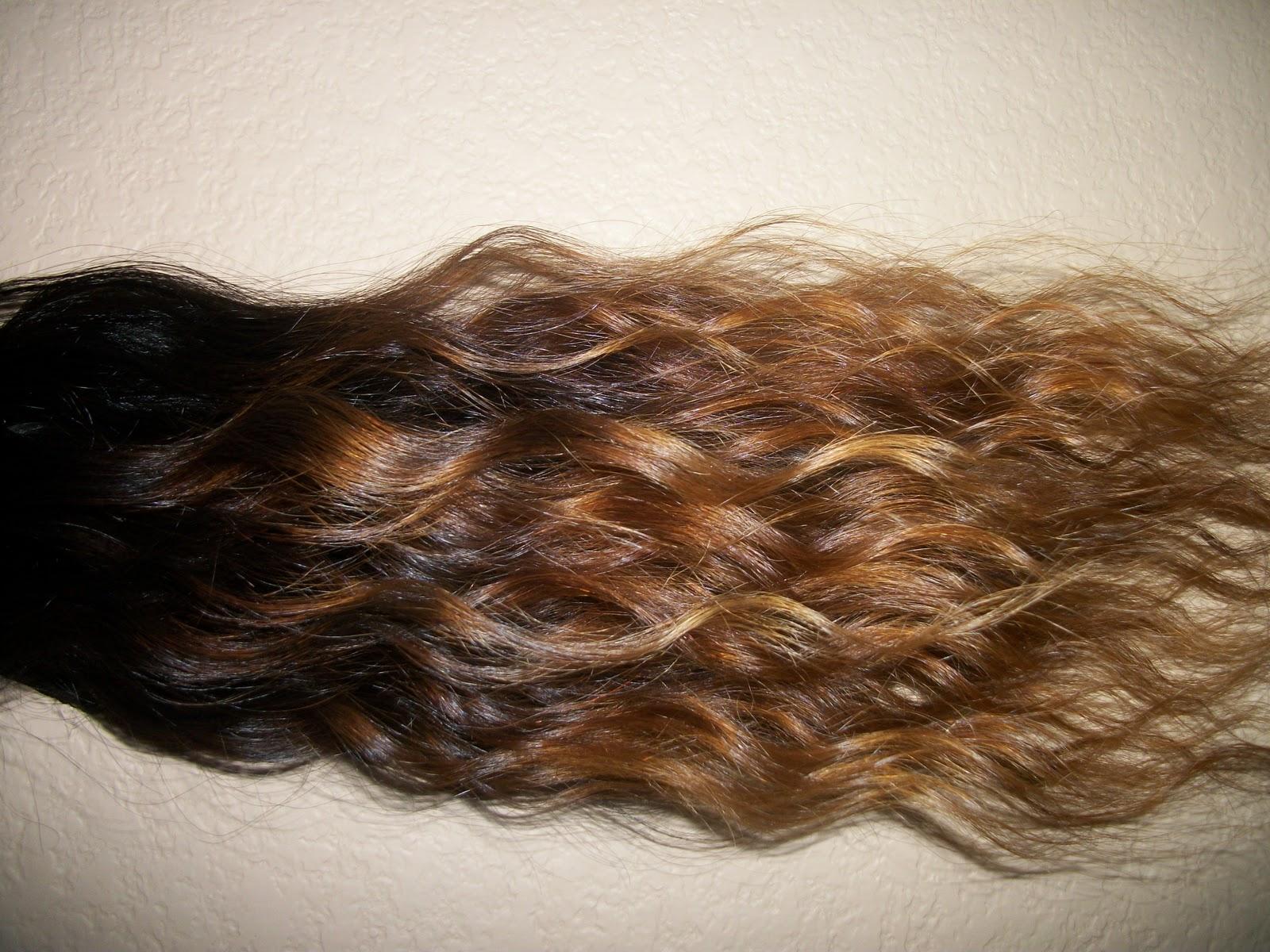 Coloring Hair Extensions (Plastic Bag Method) | Beau Co Hair