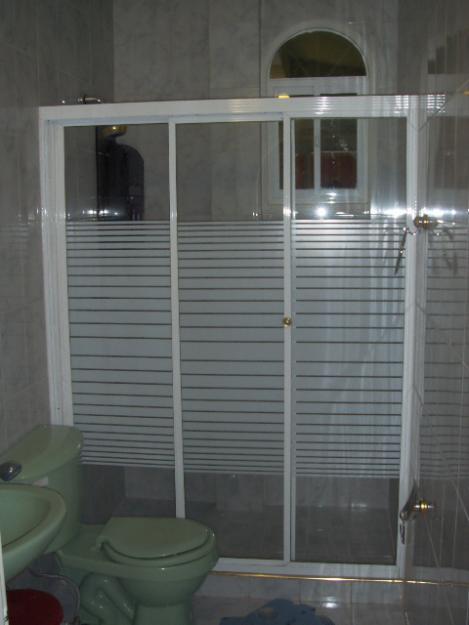 Puertas De Baño Aluminio:GOOD GLASS: CORTINAS DE BAÑO EN ALUMINIO Y VIDRIO