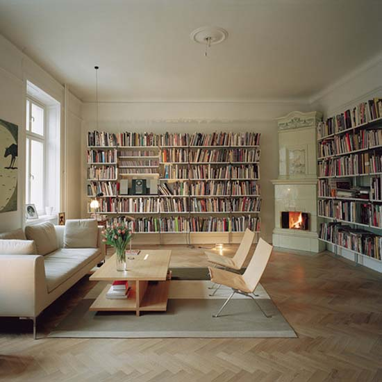Home Design Ideas Book: Dept: المكتبة المنزلية Home Library