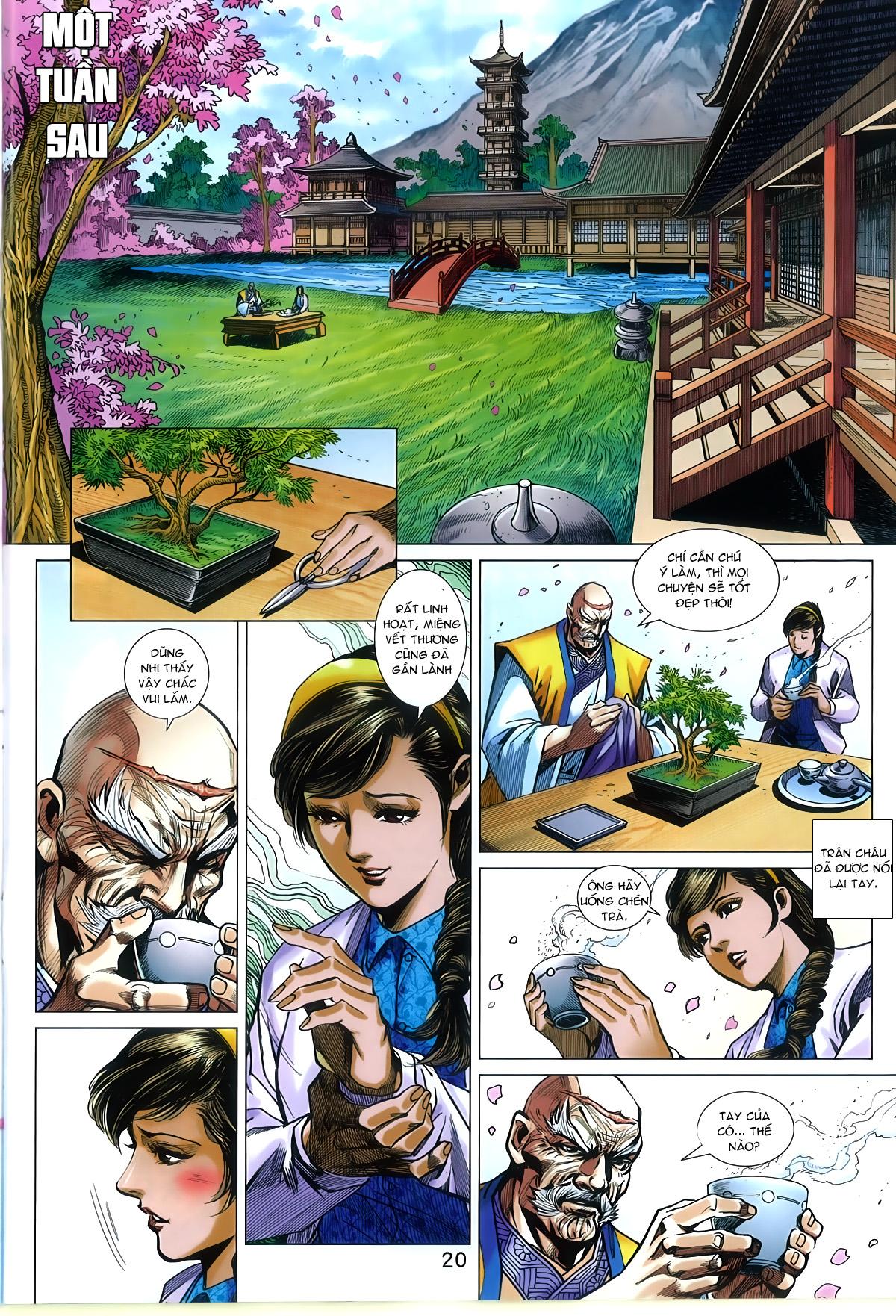 Tân Tác Long Hổ Môn chap 788 Trang 20 - Mangak.info