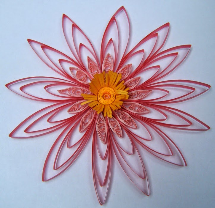 how to make different types of quilling flowers