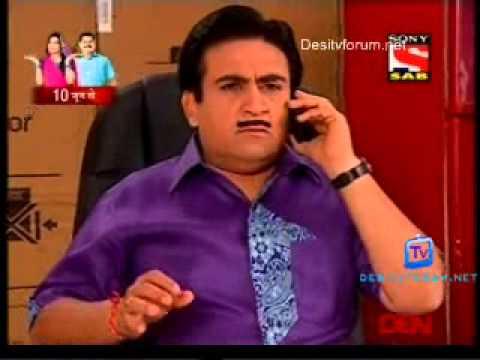 Taarak Mehta Ka Ooltah Chashmah 29th May 2013 on Sab TV ... Taarak Mehta Ka Ooltah Chashmah 2013