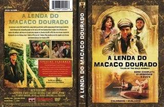 A LENDA DO MACACO DOURADO - SÉRIE COMPLETA