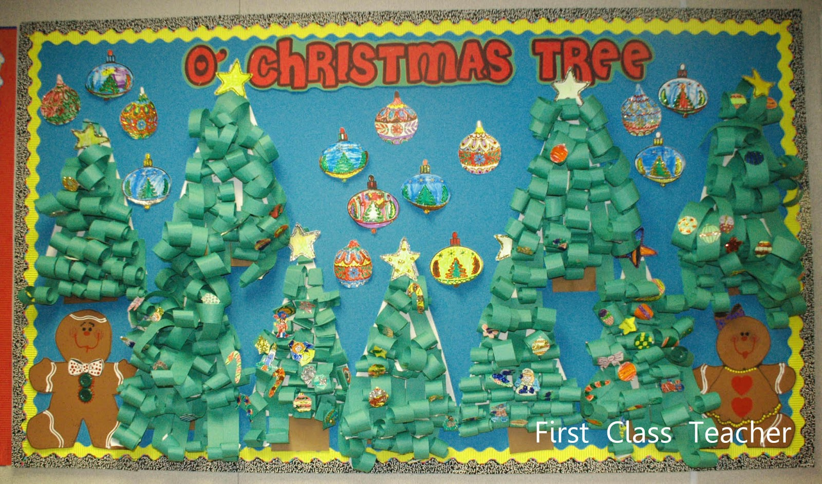 christmas bulletin board border