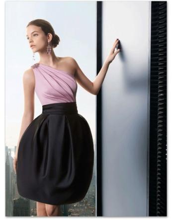 Vestidos de fiesta cortos para mujeres delgadas