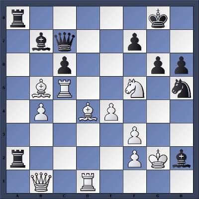 Les Blancs jouent et gagnent en 4 coups