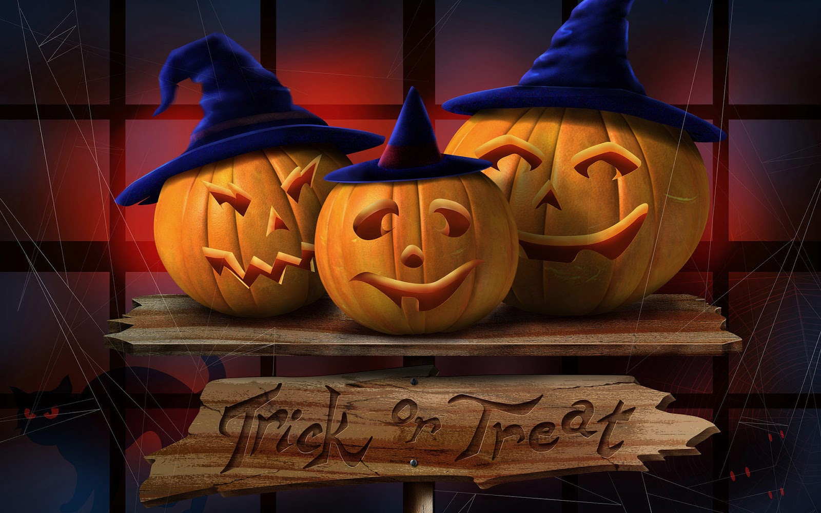 CW-375: 3D Halloween Wallpaper, Pictures of 3D Halloween HD, 50 ...