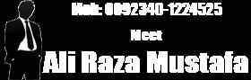 Meet Ali Raza