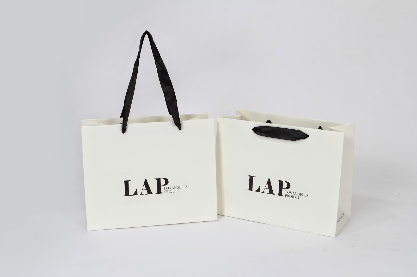 brand paper bag lap spa select shop fashion brand paper bag