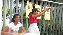 Vendendo camisas