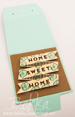 Cute Home Decor Project Using Project Life By Stampin' Up!