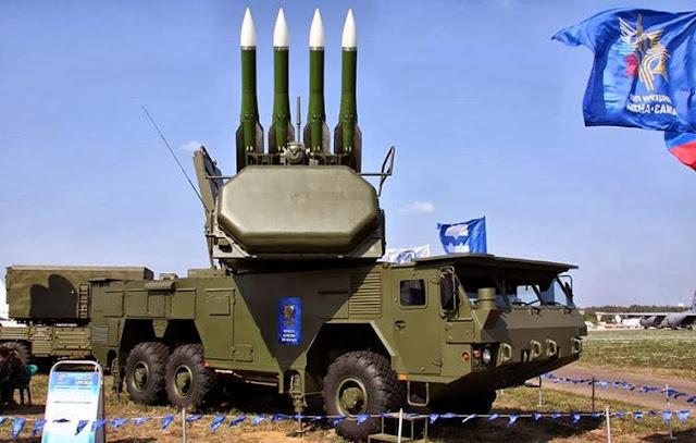 BUK-M2E Rudal Pertahanan Udara dari Rusia Untuk Indonesia