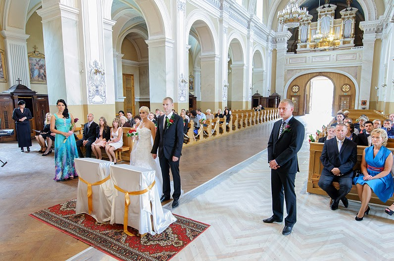 vestuvės Panevėžio Šv. apaštalų Petro ir Povilo bažnyčia