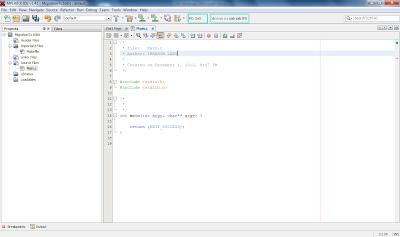 Main C File Mplab X IDE