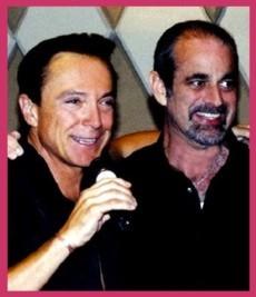DAVID CASSIDY E SAM HYMAN COMEMORAM 50 ANOS DE AMIZADE - 26/ 08/2012