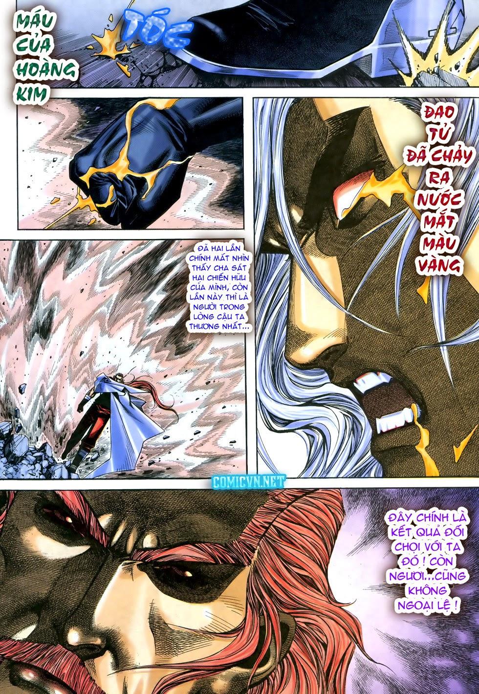 X Bạo Tộc chap 68 - Trang 12