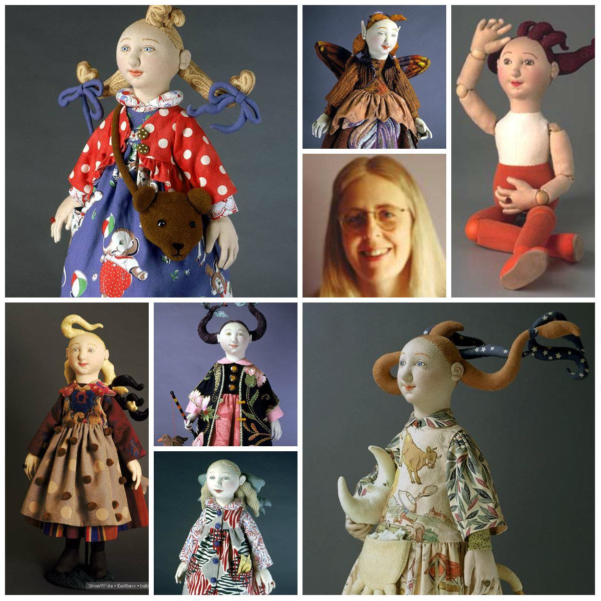 Шелли Торнтон текстильные куклы