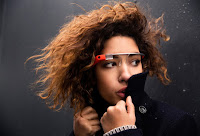 Cool girl2 with Google glass