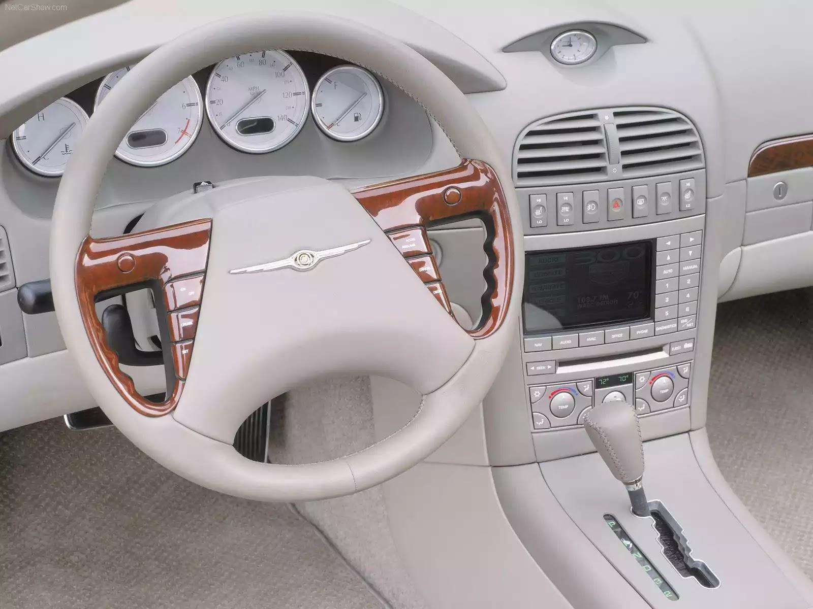 Hình ảnh xe ô tô Chrysler 300 HEMI C Convertible Concept 2000 & nội ngoại thất