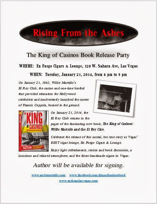 The King of Casinos Book release Party
