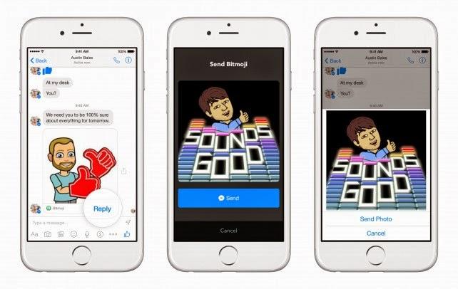 Facebook Messenger diintegrasi dengan aplikasi pembangun lain