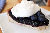 Double Blueberry Tart