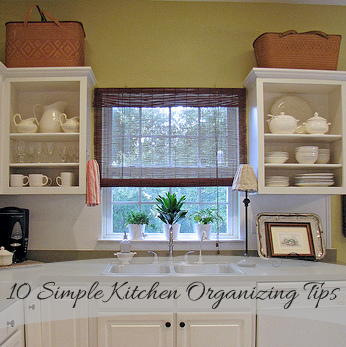Simple Kitchen Blog goodbye, house. hello, home! blog : 10 simple kitchen organizing tips