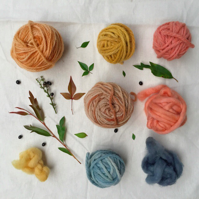 Petalplum Store ~ Naturally Dyed Yarn & Creations