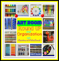 photo of: Art Room RoundUP and Organization via RainbowsWithinReach