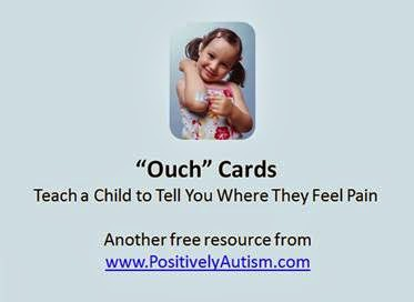 http://www.positivelyautism.com/downloads/ouch_cards.pdf