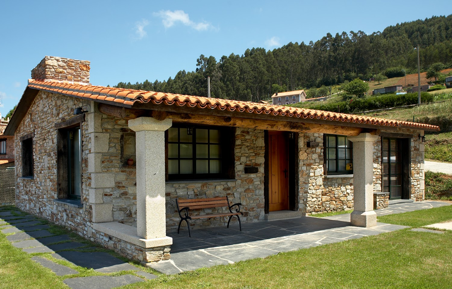 Pin casas rusticas modernas llamas with hats 4 quotes for Fotos de casas de campo rusticas
