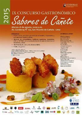 SABORES DE CAÑETE 2015