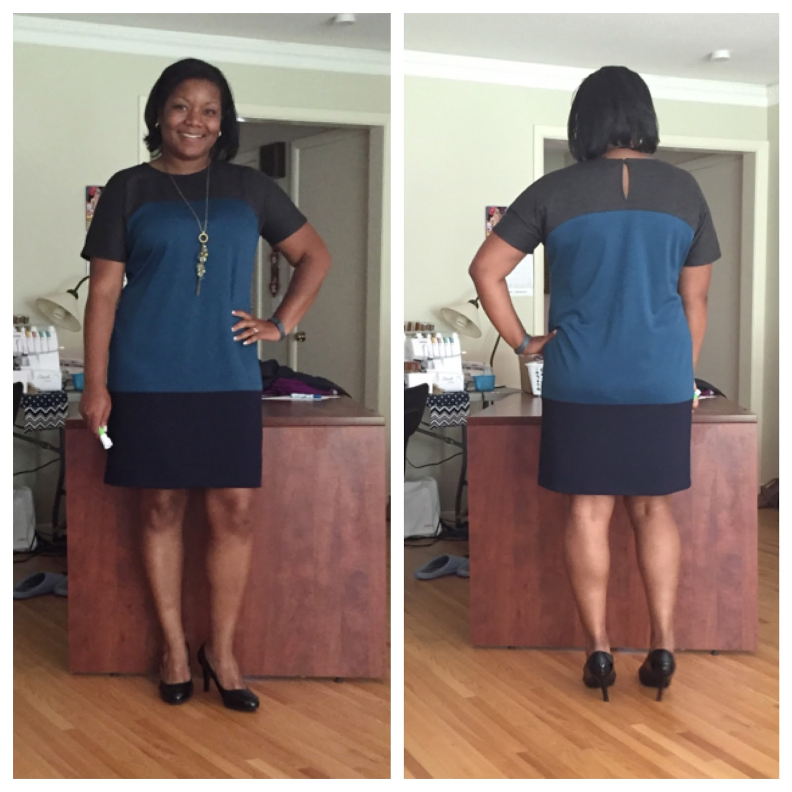 Sew Crafty Chemist: Quasi Fails: Finished: Vogue 8805 and WIP: Butterick  6183