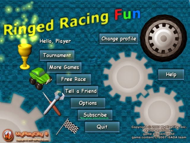 Game Ringed Racing Fun