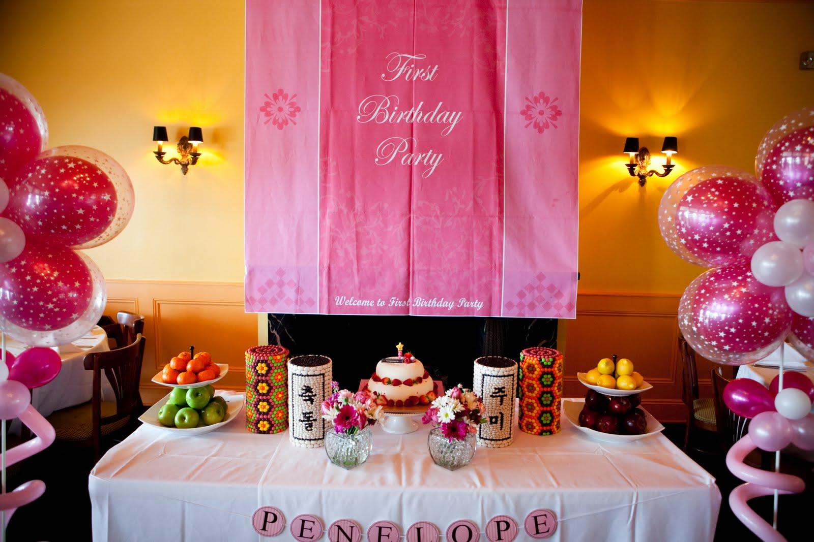 MiWonderings: My Daughter's 1st Birthday (