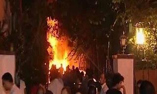 حبس متهمين اثنين 4 أيام لاتهامهما بحرق مقر حملة شفيق