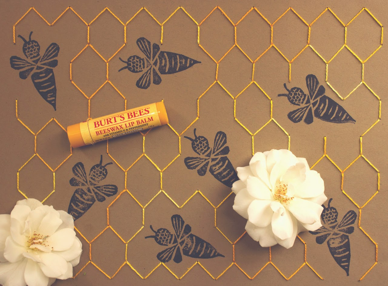 tlv birdie blog, organic skin care, natural beauty product, burt's bees 30th anniversary, burt's bees beeswax lip balm, mixed media blog, los angeles lifestyle blogger, eco-friendly blogger, simple living, product styling and photography, down to earth style, authentic lifestyle, creative treatment to product photography