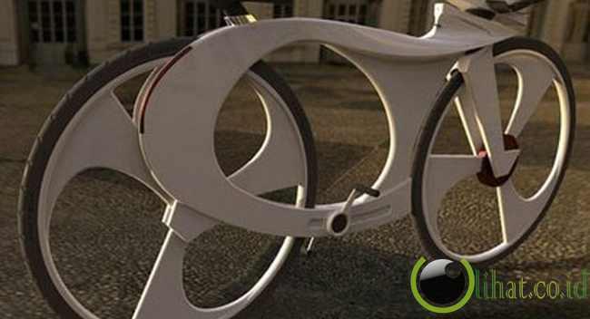 Sepeda dengan Music Player