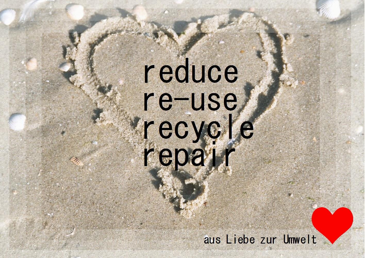 aus Liebe zur Umwelt